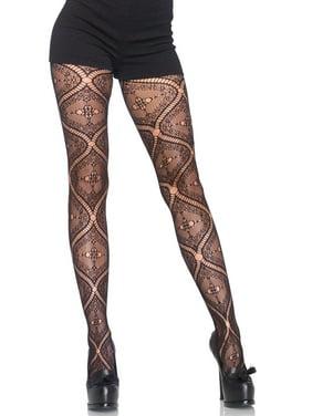 f197c09d4 Product Image Women s Nouveau Vine Lace Pantyhose