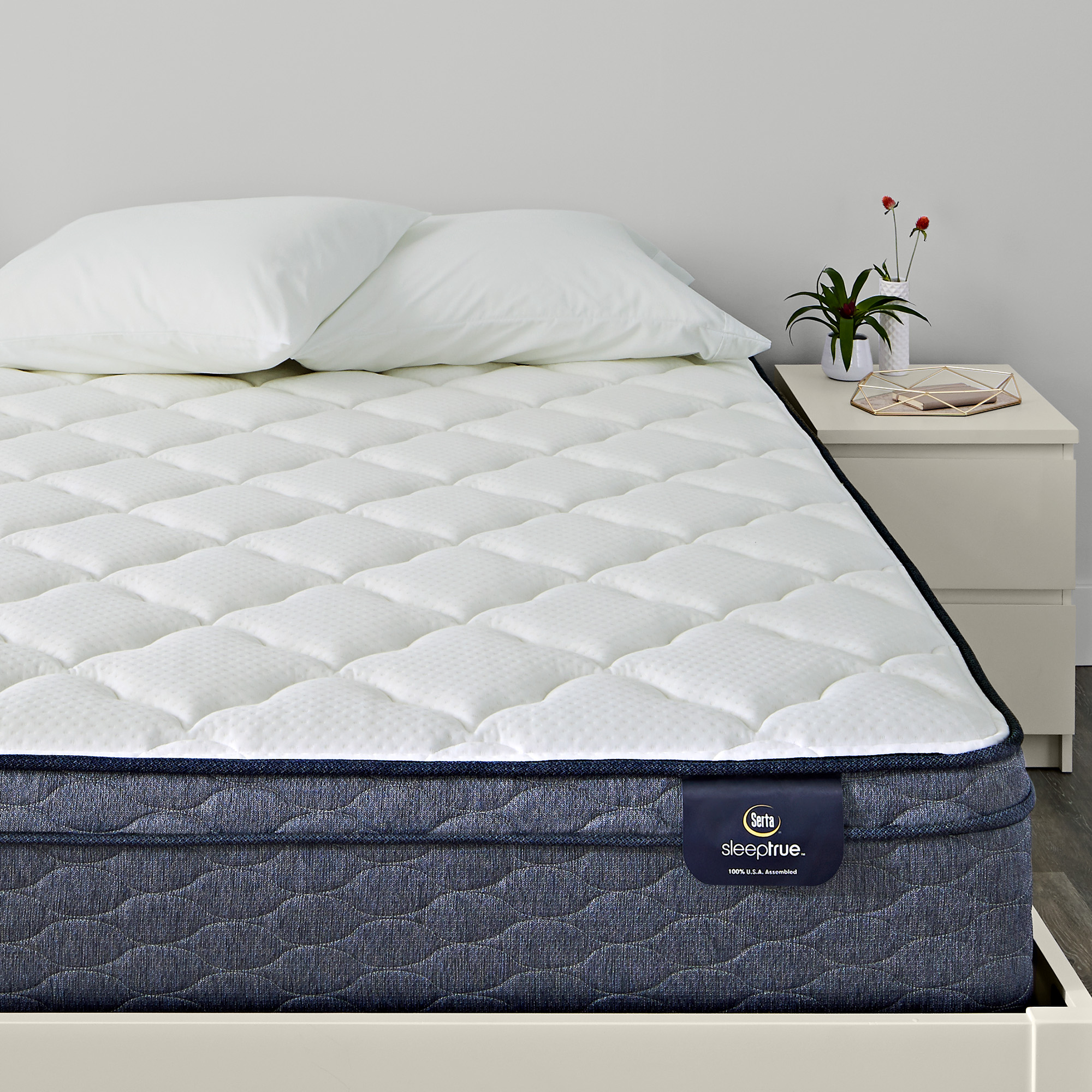 Malloy Eurotop Plush Queen Mattress