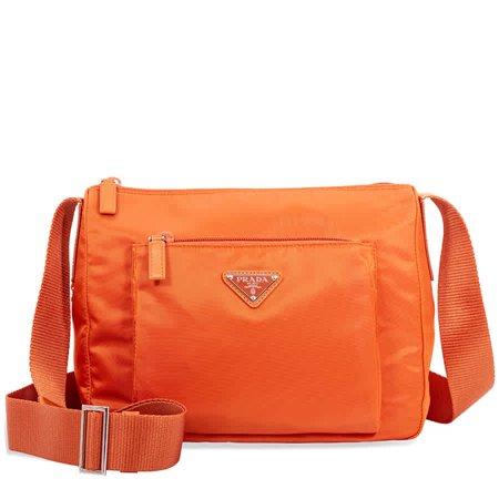 Prada Nylon Messenger Crossbody Bag- (Prada Nylon Messenger)