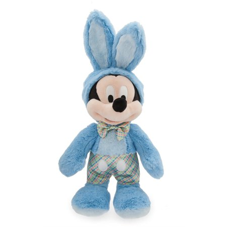 Disney Store Mickey Mouse Easter Bunny Medium Plush New with Tag