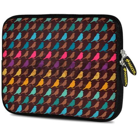 Universal 10.5 Inch Soft Neoprene Designer Sleeve Case Pouch for 10.5 Inch Tablet, eBook, Netbook - Serengeti Shades