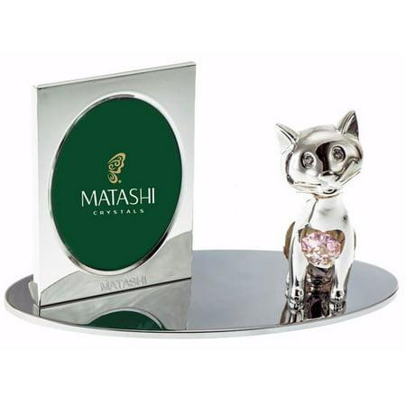 Matashi Crystal Cartoon Cat Picture -