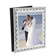 SWAROVSKI STONE 4X6 PICTURE ALBUM WITH 8X10 COVER