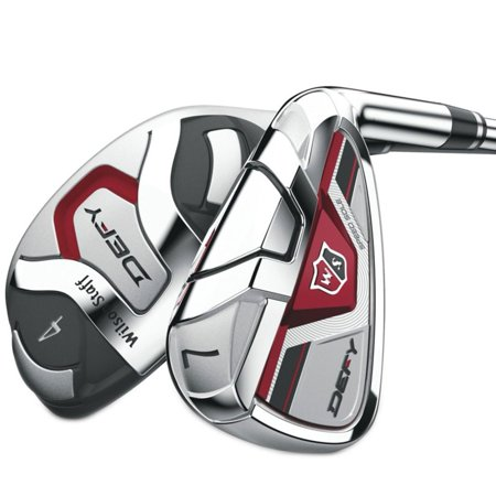 Wilson Staff Defy Hybrid/Iron Set 4-6H+7-GW (Graphite, REGULAR) Golf