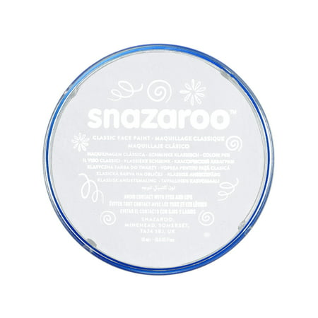 Snazaroo Classic Face Paint, 18ml, White - Cute Face Paints For Halloween