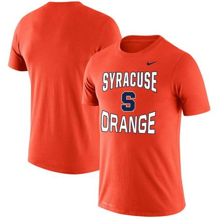 Syracuse Orange Nike Double Arch Legend Performance T-Shirt - Orange