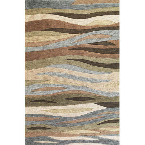 KAS Rugs Milan Green Breeze Area Rug
