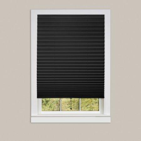 Creative Home 1-2-3 Area Rugs - 123RD48B24 Blinds & Shades Black Pleated Shade Rug 48