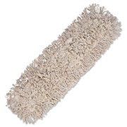 Boardwalk Mop Head, Dust, Cotton, 24 x 3, White -BWK1024