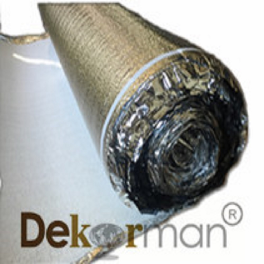 2mm Thickness Silver Foam Underlayment, 200 sqf per roll