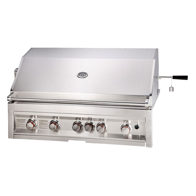 Sunstone Grills Infrared 5 Burner 42 In. Built-In Gas Grill by Texas BBQ Wholesalers