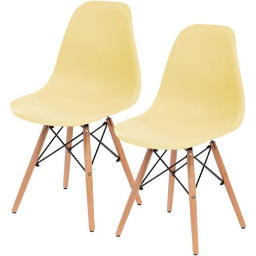 IRIS Plastic Shell Chair, 2 Pack