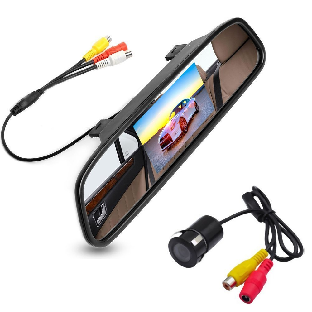 4.3 Inch Auto SWITCH-ON CAR Monitor HD CAR Mirror Support...