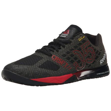 b981de8766b Reebok - Reebok Men s R Crossfit Nano 5 Athletic Training Shoes  Black Red Shark White (11.0M) - Walmart.com