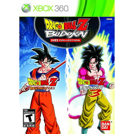 Dragon Ball Z HD Collection Video Game for Xbox 360