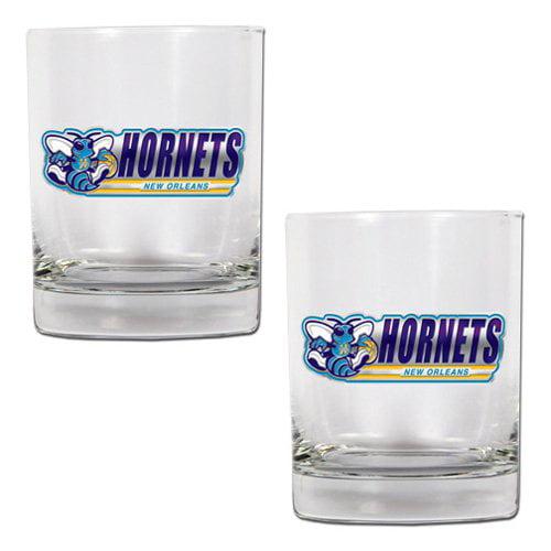 Great American NBA Rocks Glass Set