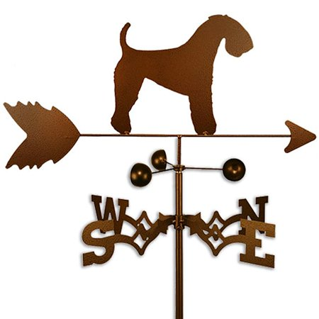 Terrier Weathervane (SWEN Products Inc Handmade Kerry Blue Terrier Dog Copper Weathervane)