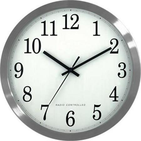 Lacrosse  12   Atomic Analog Wall Clock
