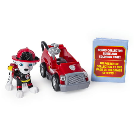 PAW Patrol Ultimate Rescue Marshall Mini Fire Cart