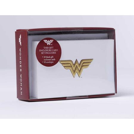 DC Comics: Wonder Woman Foil Gift Enclosure Cards (Set of (Dc Comics Gifts)