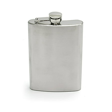 Chinook Stainless Steel Hip Flask 8 oz. (Chinook Rubber)