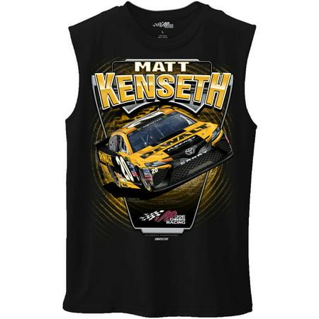 Matt Kenseth Dewalt Racing (Matt Kenseth Joe Gibbs Racing Team Collection DeWALT Muscle T-Shirt - Black -)