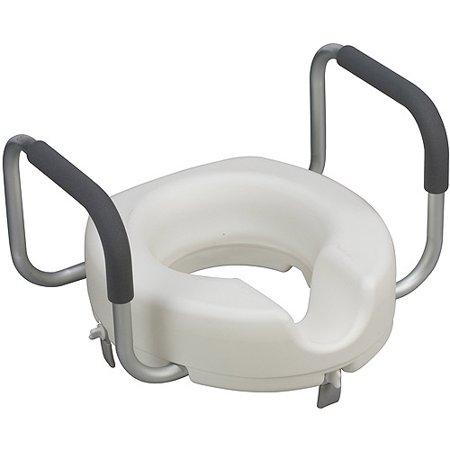 Dmi Locking Raised Toilet Seat Riser Wi Walmart Com