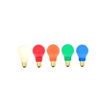 Vickerman 157879 - Multi Ceramic Med Base 130V 25 Watt Bulbs (V482520) A19 Light Bulb ()