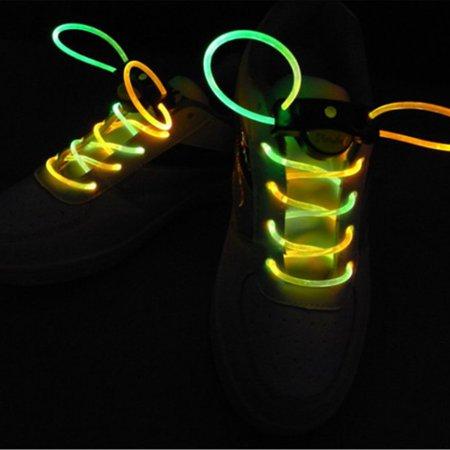 Novel LED Nylon Shoelaces Light Up Flashing Shoe Laces for Christmas Gift - image 5 of 6