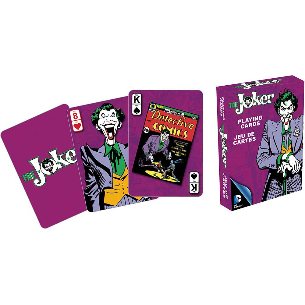 Retro Joker Playing Cards