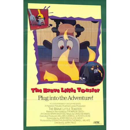 Brave Little Toaster (1988) 11x17 Movie Poster (Toaster That Looks Like The Brave Little Toaster)