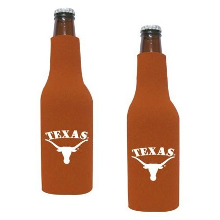 Giants Zipper Bottle Suit - NCAA Texas Longhorns Neoprene Bottle Suit with Zipper   University of Texas Beer Koozies - Set of 2