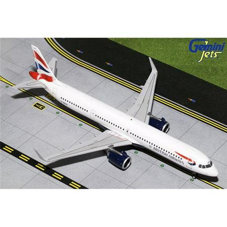 Gemini200 G2BAW802 British Airways Airbus A321neo Scale 1 by 200 Reg No. G-NEOP British Airways Airbus