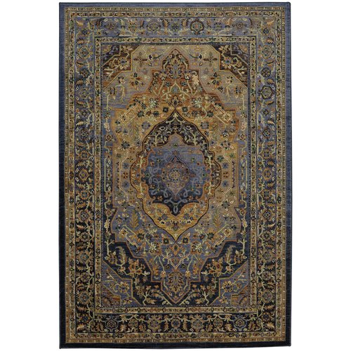 Mohawk Home Providence Mosher Blue Area Rug