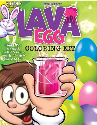 Easter Unlimited Lava Egg Decorating Kit, Easter Egg Dye / Decorating Kit