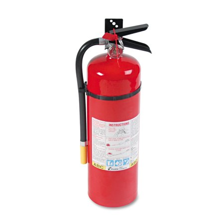 Kidde ProLine Pro 10lb 10MP Fire Extinguisher, 4 A, 60 B:C, 195psi, 19.52h x 5.21 dia](Fire Extinguisher Squirt Gun)