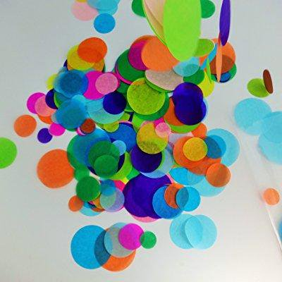 755702259804 Upc Confetti Circles 4 Different Sizes Of