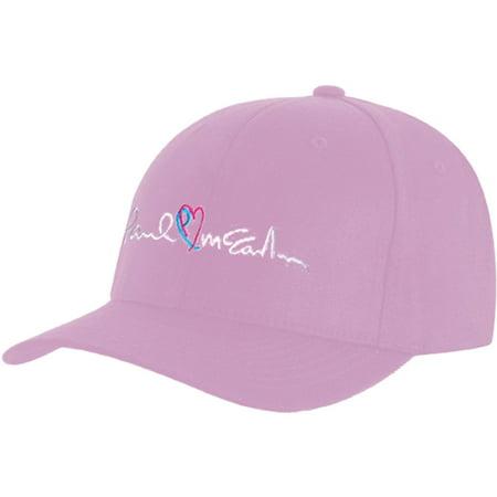 2c13e9fb1d8db Beatles - Beatles Men s PM Heart Baseball Cap Pink - Walmart.com