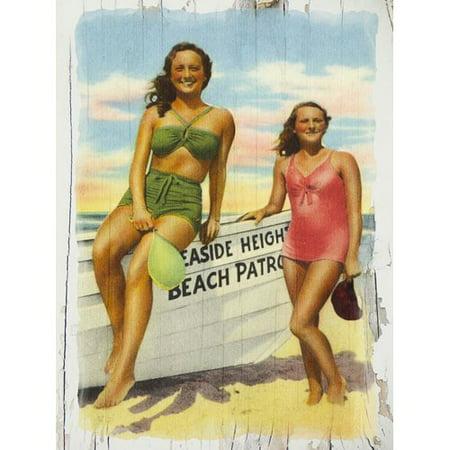 Highland Dunes Trent 'Seaside Heights Beach Patrol' Graphic Art Print on Canvas