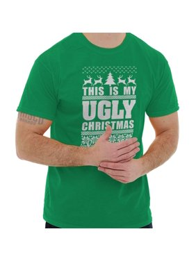 d8f23065 Free shipping. Product Image Holiday Cheer Funny Xmas Gift IdeasMy Ugly Christmas  T-Shirt