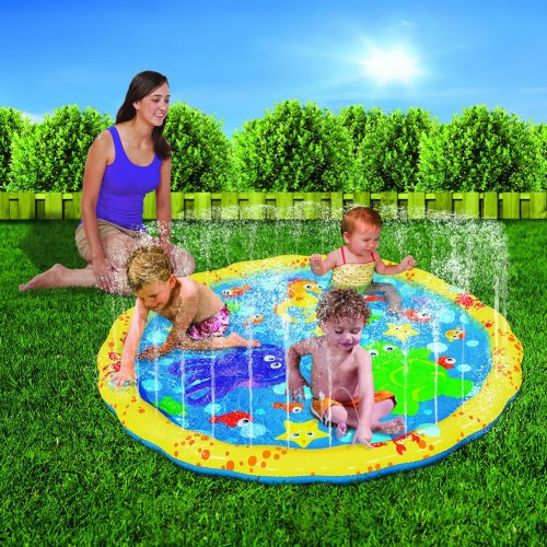 small world toys active edge- sprinkle n splash play mat play mat