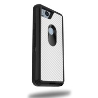 MightySkins Skin Compatible With OtterBox Defender Google Pixel 2 XL 5.5 Case - Black Diamond Plate | Protective, Durable, and Unique Vinyl cover | Easy To Apply, Remove | Made in the USA