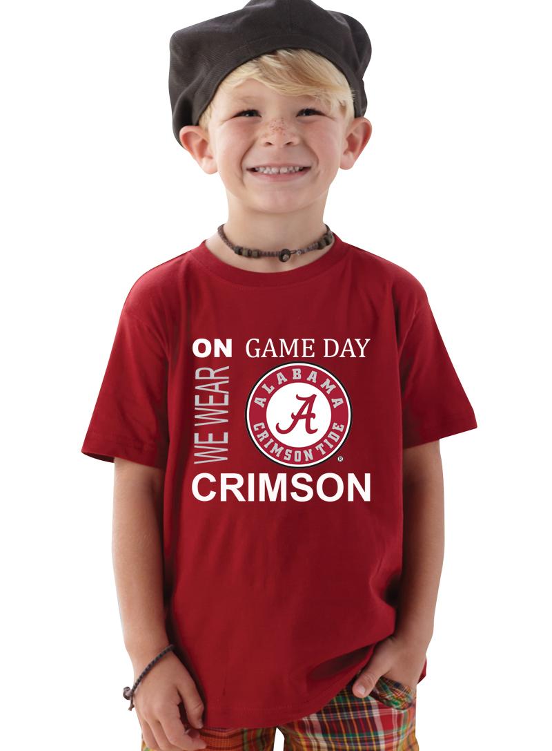 Alabama Crimson Tide On Game Day Baby/Toddler T-Shirt