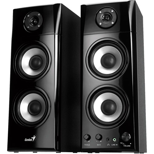 Genius SP-HF1800A Speaker System, Black