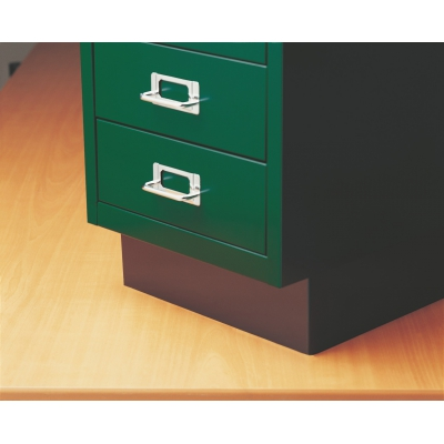 Bisley Plinth Base for Steel Under Desk Multidrawer Cabinet BDSMDPLINTH by Bindertek