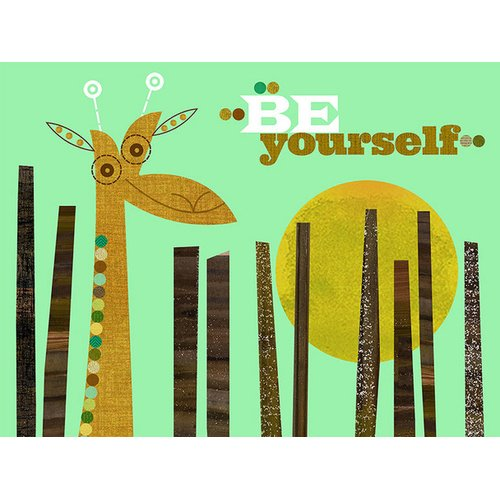 Oopsy Daisy Be Yourself Canvas Art