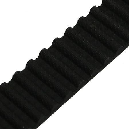 S5M 103 Teeth Engine Timing Belt Rubber Geared-Belt 515mm Girth 15mm Width - image 2 de 2