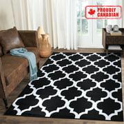 A2Z Modern Trellis Trendy Simple Soft Living Room Area Rug Carpet Tapis (3x5 4x6 5x7 5x8 7x9 8x10)