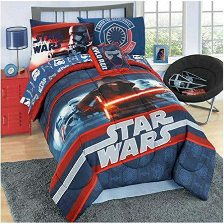 Star Wars The Force Awakens Boys Kids Twin Reversible
