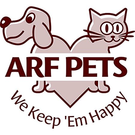 Arf Pets Designer Enclosed Cat Litter Furniture Box House with Table - image 3 of 6